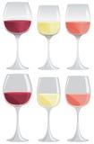 κρασί μεσημεριανού γεύματος γυαλιού παραλιών Στοκ Εικόνες