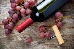 Κρασί με το βαρέλι Στοκ Φωτογραφίες