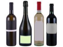 κρασί μπουκαλιών Στοκ φωτογραφία με δικαίωμα ελεύθερης χρήσης