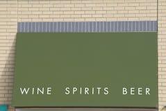 κρασί πνευμάτων μπύρας Στοκ Εικόνες