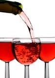 κρασί ρευμάτων Στοκ Εικόνες