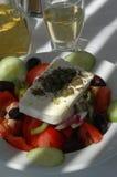κρασί σαλάτας Στοκ Φωτογραφίες
