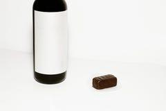 κρασί σοκολάτας καραμε& Στοκ εικόνες με δικαίωμα ελεύθερης χρήσης