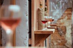 Κρασί στα γυαλιά στοκ φωτογραφία με δικαίωμα ελεύθερης χρήσης