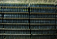 κρασί συλλογής μπουκα&lam Στοκ Φωτογραφίες