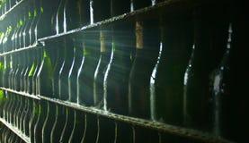 κρασί συλλογής μπουκα&lam Στοκ φωτογραφία με δικαίωμα ελεύθερης χρήσης