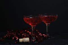 κρασί συμβαλλόμενων μερών στοκ εικόνες