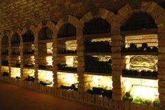 κρασί υπόγειων θαλάμων στοκ εικόνες με δικαίωμα ελεύθερης χρήσης