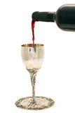 κρασί φλυτζανιών shabbats Στοκ Εικόνες