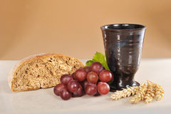 κρασί ψωμιού στοκ φωτογραφίες με δικαίωμα ελεύθερης χρήσης