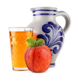 κρασί 2 μήλων στοκ εικόνες
