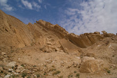 κρατήρας απότομων βράχων μι&ka Στοκ εικόνα με δικαίωμα ελεύθερης χρήσης