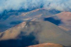 Κρατήρας ηφαιστείων Στοκ εικόνα με δικαίωμα ελεύθερης χρήσης