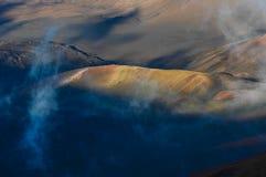 Κρατήρας ηφαιστείων Στοκ Φωτογραφίες
