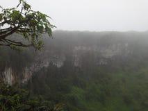 Κρατήρας κατάρρευσης Στοκ Εικόνες