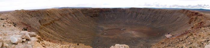 Κρατήρας μετεωριτών στοκ φωτογραφία