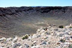 Κρατήρας μετεωριτών στοκ εικόνα