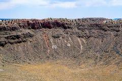 Κρατήρας μετεωριτών στοκ φωτογραφία με δικαίωμα ελεύθερης χρήσης