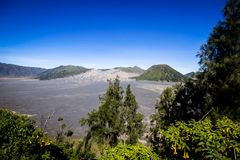 Κρατήρας στην ανατολική Ιάβα Ινδονησία Bromo Vulcano Στοκ φωτογραφίες με δικαίωμα ελεύθερης χρήσης