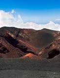 Κρατήρας του ηφαιστείου Etna στη Σικελία Στοκ φωτογραφία με δικαίωμα ελεύθερης χρήσης