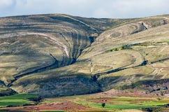 Κρατήρας του ηφαιστείου Maragua, Βολιβία στοκ εικόνα