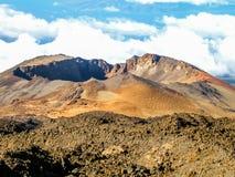 Κρατήρας του ηφαιστείου Teide Στοκ Φωτογραφία