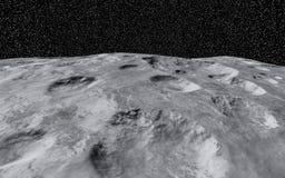 Κρατήρας φεγγαριών ελεύθερη απεικόνιση δικαιώματος