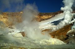 κρατήρας Στοκ Εικόνες
