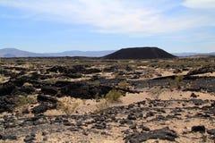 Κρατήρας Amboy στοκ εικόνα με δικαίωμα ελεύθερης χρήσης