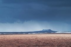Κρατήρας Elborg Στοκ Εικόνες
