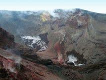 Κρατήρας Etna Στοκ φωτογραφία με δικαίωμα ελεύθερης χρήσης