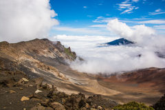 Κρατήρας Haleakala Στοκ φωτογραφία με δικαίωμα ελεύθερης χρήσης