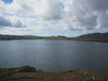 Κρατήρας Kerid - ηφαιστειακή λίμνη κρατήρων στην Ισλανδία Στοκ Εικόνες