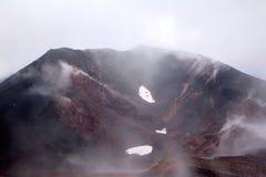 Κρατήρας Silvestri Etna του ηφαιστείου. Στοκ εικόνες με δικαίωμα ελεύθερης χρήσης
