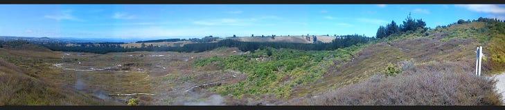 Κρατήρες του φεγγαριού, Νέα Ζηλανδία στοκ φωτογραφίες