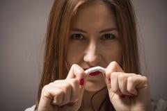 Κρατήστε την υγεία και κερδίστε χρήματα - εγκαταλειμμένο κάπνισμα! Στοκ φωτογραφία με δικαίωμα ελεύθερης χρήσης