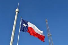 Κρατική δίκαιη σημαία του Τέξας Στοκ εικόνα με δικαίωμα ελεύθερης χρήσης