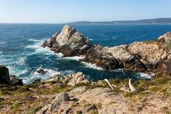 Κρατική επιφύλαξη Lobos σημείου σε Καλιφόρνια Στοκ Φωτογραφίες