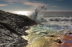 Κρατική παραλία Dume σημείου Στοκ Φωτογραφίες