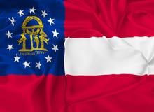 Κρατική σημαία της Γεωργίας διανυσματική απεικόνιση