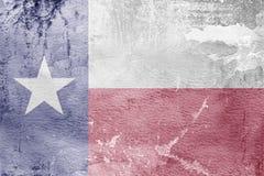 Κρατική σημαία του Τέξας της Αμερικής Στοκ φωτογραφία με δικαίωμα ελεύθερης χρήσης