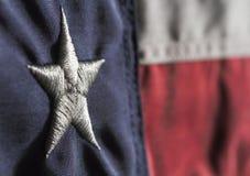 Κρατική σημαία του Τέξας Στοκ φωτογραφία με δικαίωμα ελεύθερης χρήσης