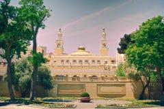 Κρατική φιλαρμονική κοινωνία του Αζερμπαϊτζάν που ονομάζεται μετά από μουσουλμανικό Magomay στοκ φωτογραφία