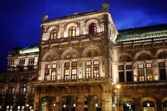 Κρατική όπερα της Βιέννης, Αυστρία Στοκ Φωτογραφίες