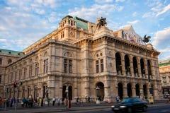 Κρατική όπερα της Βιέννης στοκ φωτογραφίες με δικαίωμα ελεύθερης χρήσης