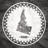 Κρατικός χάρτης του Αϊντάχο ελεύθερη απεικόνιση δικαιώματος