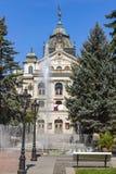 Κρατικό θέατρο στο κέντρο της πόλης Kosice, Σλοβακία στοκ εικόνες