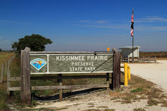 Κρατικό πάρκο κονσερβών λιβαδιών Kissimmee Στοκ εικόνα με δικαίωμα ελεύθερης χρήσης