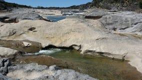 Κρατικό πάρκο πτώσεων Pedernales στοκ εικόνες με δικαίωμα ελεύθερης χρήσης