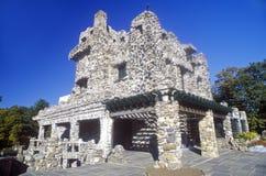 Κρατικό πάρκο του Gillette Castle, ανατολή Haddam, Κοννέκτικατ στοκ εικόνα με δικαίωμα ελεύθερης χρήσης